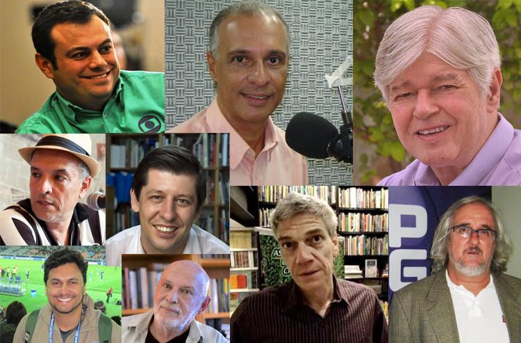 Diversas personalidades do jornalismo esportivo estarão presentes durante a Bienal (Foto: Divulgação)