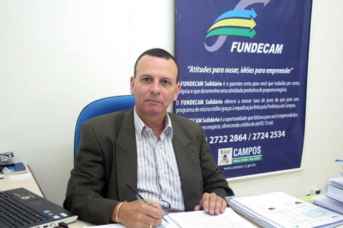 O presidente do Fundecam, Otávio Amaral, destaca que a taxa definida no programa é inferior às taxas cobradas pelo BNDES, e equivalente aos juros praticados somente no mercado internacional (Foto: Antônio Leudo)